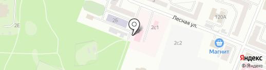 Республиканский психоневрологический диспансер на карте Саранска