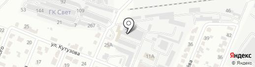 Эксплуатационно-ремонтное предприятие на карте Саранска