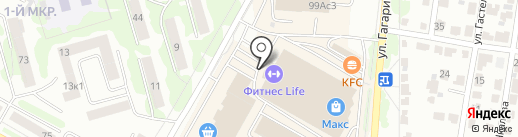 Левша CITYMASTER на карте Саранска