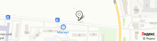 СССР на карте Саранска