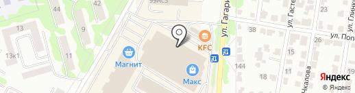 Max FloR на карте Саранска