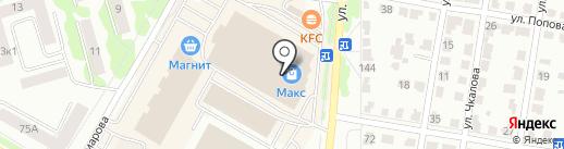 FT на карте Саранска