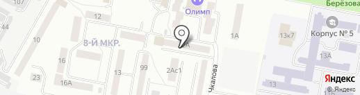 Амато на карте Саранска