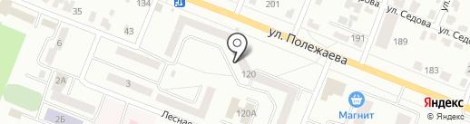 Почтовое отделение №30 на карте Саранска