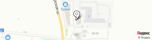 КАНС на карте Саранска