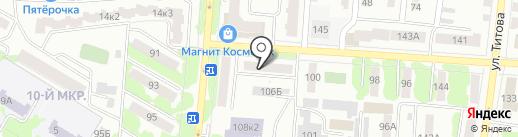 Виват на карте Саранска
