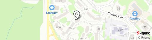 АКБ Московский Вексельный Банк на карте Заречного