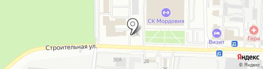 МТК на карте Саранска
