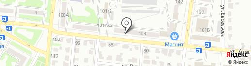 Velvet на карте Саранска