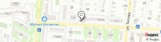 Редут на карте Саранска