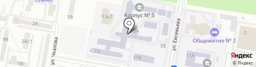 МГПИ на карте Саранска