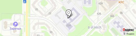 Средняя общеобразовательная школа №221 на карте Заречного