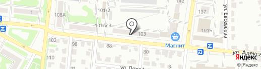 АвтоТемп на карте Саранска
