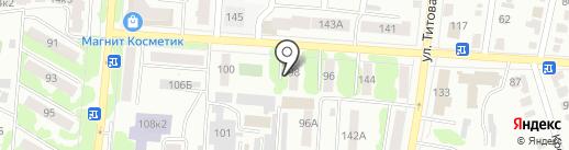 Нотариус Родионов В.С. на карте Саранска
