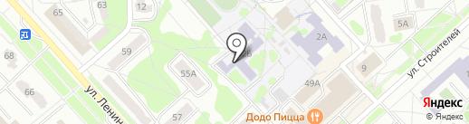 Средняя общеобразовательная школа №222 с углубленным изучением предметов художественно-эстетического профиля на карте Заречного