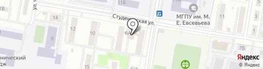 Гри-Мак на карте Саранска
