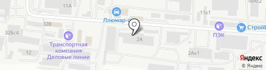 Мордовспецстрой на карте Саранска