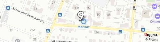 Теплоцентр на карте Саранска
