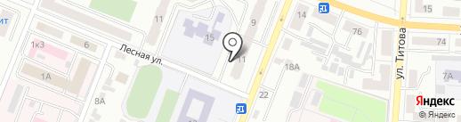 Прометей на карте Саранска