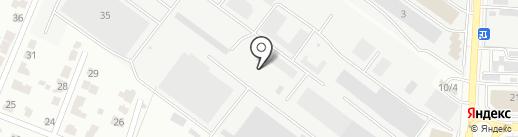 РЕМ-МАРКА на карте Саранска