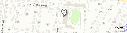Ривьера на карте Саранска