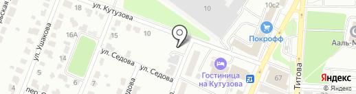 Шиномонтажная мастерская на карте Саранска
