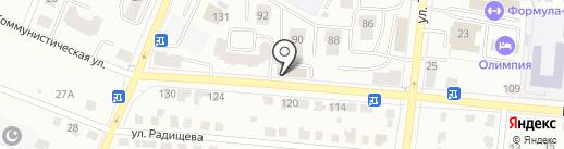 Контек-Сура на карте Саранска