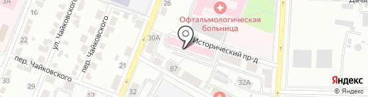 Поликлиника №8 на карте Саранска
