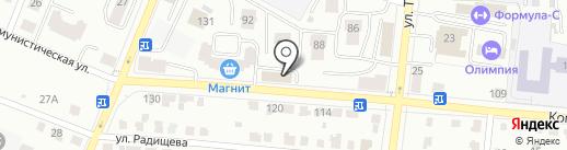 ИТЕКО Россия на карте Саранска