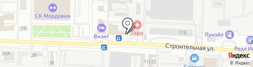 Акраком на карте Саранска