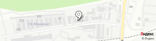 Химсервис на карте Саранска