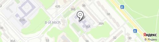 Начальная школа-детский сад №229 на карте Заречного
