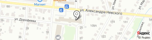 Собр Белозор на карте Саранска