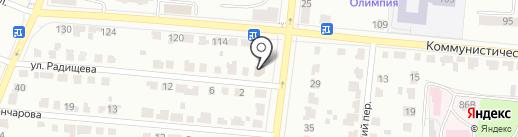 Адвокатский кабинет Емельянова Н.С. на карте Саранска