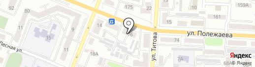 Служба доставки товаров из ИКЕА на карте Саранска