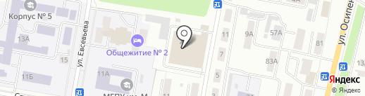 ИДЭМС на карте Саранска