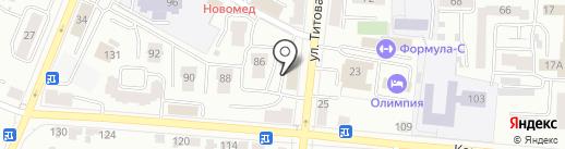 Страж на карте Саранска