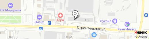 Промторгметалл на карте Саранска