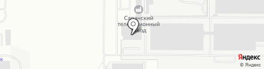 Банкомат, Банк ВТБ 24, ПАО на карте Саранска