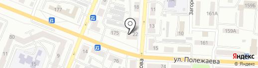 Ювента на карте Саранска