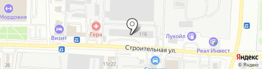 113 на карте Саранска