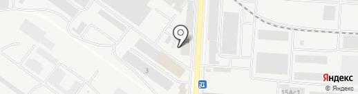 Завод ЖБК-1 на карте Саранска