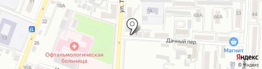 Социальное обеспечение на карте Саранска