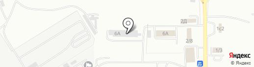 Мордовская республиканская аварийно-спасательная служба, ГКУ на карте Саранска