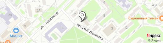 Penza Dive Club на карте Заречного
