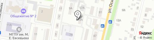 Саранский информационный центр на карте Саранска