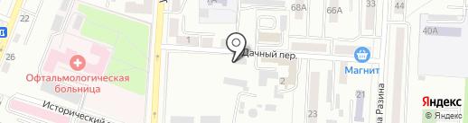Саранское водопроводно-канализационное хозяйство на карте Саранска