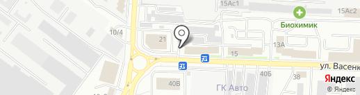 Независимый экспертно-правовой центр, АНО на карте Саранска
