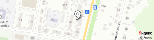 Библиотека №4 на карте Саранска