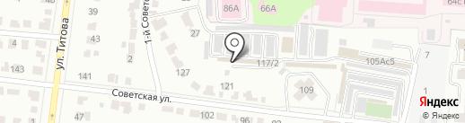 Тайл-Групп на карте Саранска